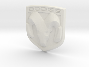 Ram Logo in White Strong & Flexible