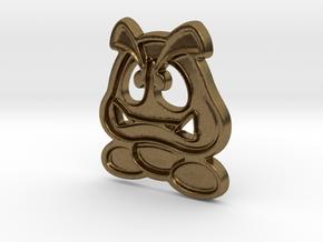 Paper Goomba in Natural Bronze