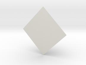 Pyramid in White Natural Versatile Plastic