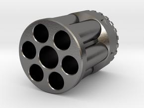 Rev-6 Lanyard Bead in Polished Nickel Steel