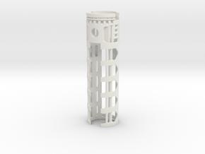 PDW-I2-02 - Padawan I2 & 18650 battery V2 in White Natural Versatile Plastic