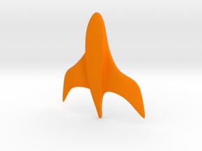 100 mm Phantom Cruiser in Orange Strong & Flexible Polished