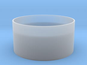 Coin Cup in Smooth Fine Detail Plastic