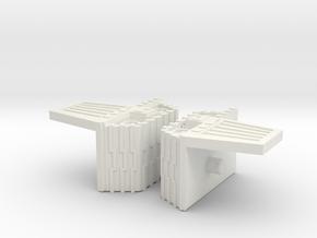 Tank Mode in White Natural Versatile Plastic