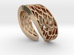 Mermaid Ring in 14k Rose Gold Plated