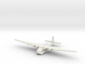Me 323 E-2 WT-Gunship (1/285) in White Natural Versatile Plastic
