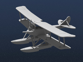 Rumpler 6B1 in White Natural Versatile Plastic: 1:144