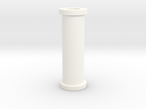 Pinball Plastic Standoff Post - Bally 90's era in White Processed Versatile Plastic