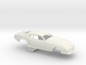 1/18 68 Firebird Pro Mod No Scoop in White Natural Versatile Plastic