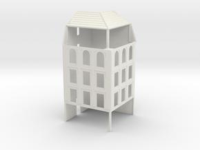 NVIM51 - City buildings in White Natural Versatile Plastic