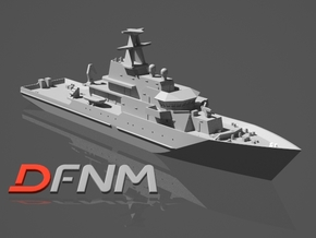 River class OPV Batch 1 in White Strong & Flexible: 1:700