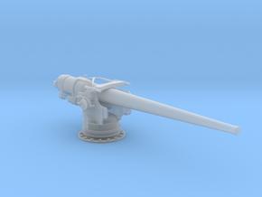 1/96 USN 5''/ 51 Cal. Deck Gun in Smooth Fine Detail Plastic