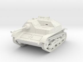 PV139A TKS Tankette w/20mm (28mm) in White Natural Versatile Plastic