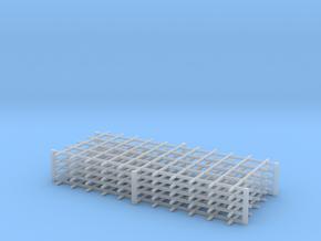 Rebar Grid 4 Feet x 10 Feet 1-87 HO Scale  in Smooth Fine Detail Plastic