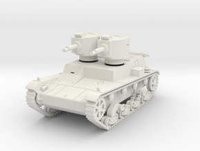 PV140A 7TP Dual Turret (28mm) in White Strong & Flexible