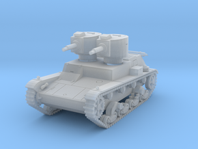 PV140C 7TP Dual Turret (1/87) in Smooth Fine Detail Plastic