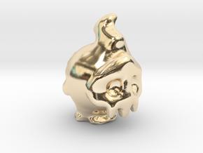 Duskull in 14k Gold Plated Brass