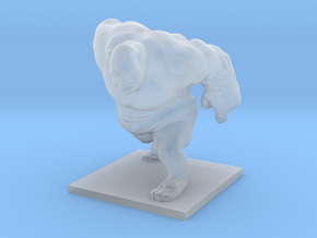 Ogre Miniature in Smooth Fine Detail Plastic