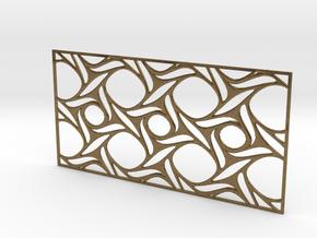 Screen design31 in Natural Bronze