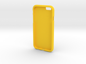 Topographic iPhone Case - Golden, CO in Yellow Processed Versatile Plastic