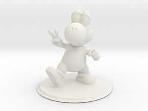 Yoshi in White Natural Versatile Plastic