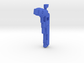 Invader in Blue Strong & Flexible Polished