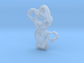 Paper Luigi in Smooth Fine Detail Plastic