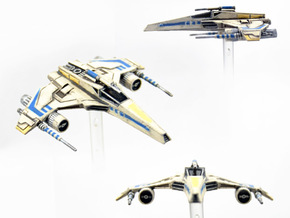 E-Wing Variant - Tri-Cannon 3pack 1/270 in Frosted Extreme Detail
