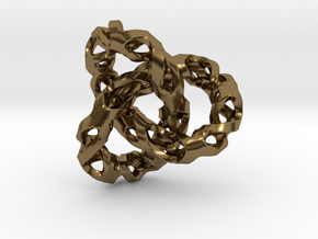 Torus in Polished Bronze