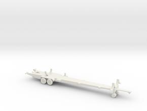 1/144 Scale Thor Missile Trailer in White Natural Versatile Plastic