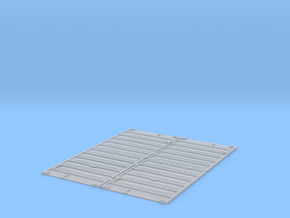 TT Scale 8' Pullman Doors in Smooth Fine Detail Plastic