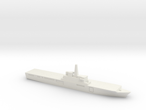 Osumi-class LST, 1/1800 in White Natural Versatile Plastic