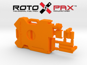 AJ10044 RotopaX Emergency Pack - ORANGE in Orange Strong & Flexible Polished