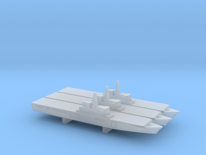 Osumi-class LST x 3, 1/6000 in Smooth Fine Detail Plastic