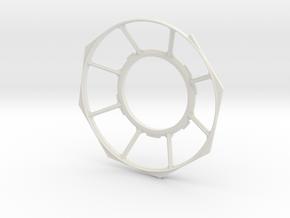 StarWars Millinium Falcon Gunner Window V-2 in White Natural Versatile Plastic