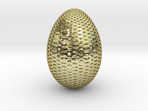 Designer Egg 2 in 18k Gold Plated