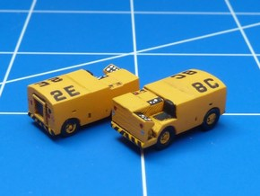1:144 Scale NC-2 Mobile Electric Power Plant (x2) in Smooth Fine Detail Plastic