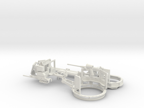 1:18 TUSK 2 TURRET SET 2 - J 8 Way Viewport versio in White Strong & Flexible