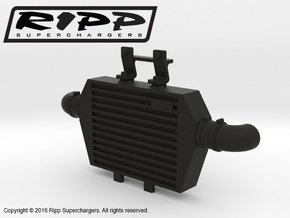 RS10004 Ripp Intercooler JK - BLACK in Black Strong & Flexible