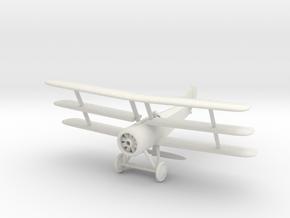 Sopwith Triplane (Various Scales) in White Natural Versatile Plastic: 1:100