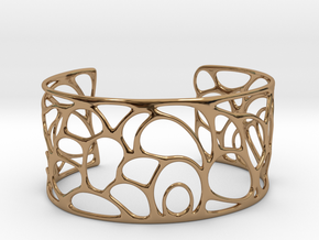 Abstract Bracelet  #11 in Polished Brass