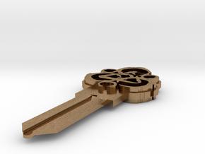 Coheed Cambria Keyway KW1 Keyblank in Raw Brass