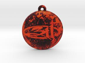 311 Logo Pendant / Ornament in Full Color Sandstone