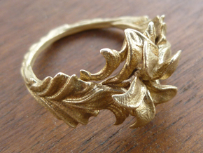Yazmin Ring in Natural Bronze: 7 / 54