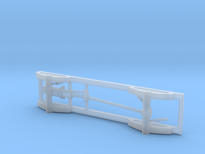 1/87 4x4 Pick Up Truck Frame in Smooth Fine Detail Plastic
