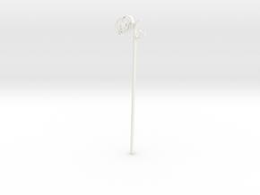 """Wedding Cake Pop """"Mr"""" in White Processed Versatile Plastic"""