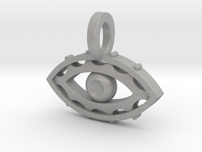 Evil Eye charm in Aluminum
