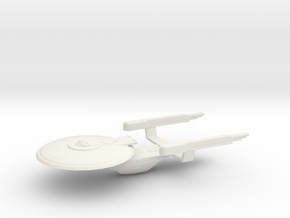 Uss Valhala in White Strong & Flexible
