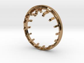 Keel in Polished Brass