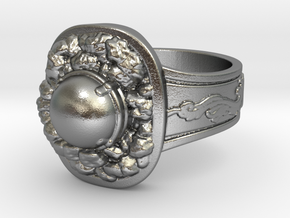 Havel's Ring in Natural Silver
